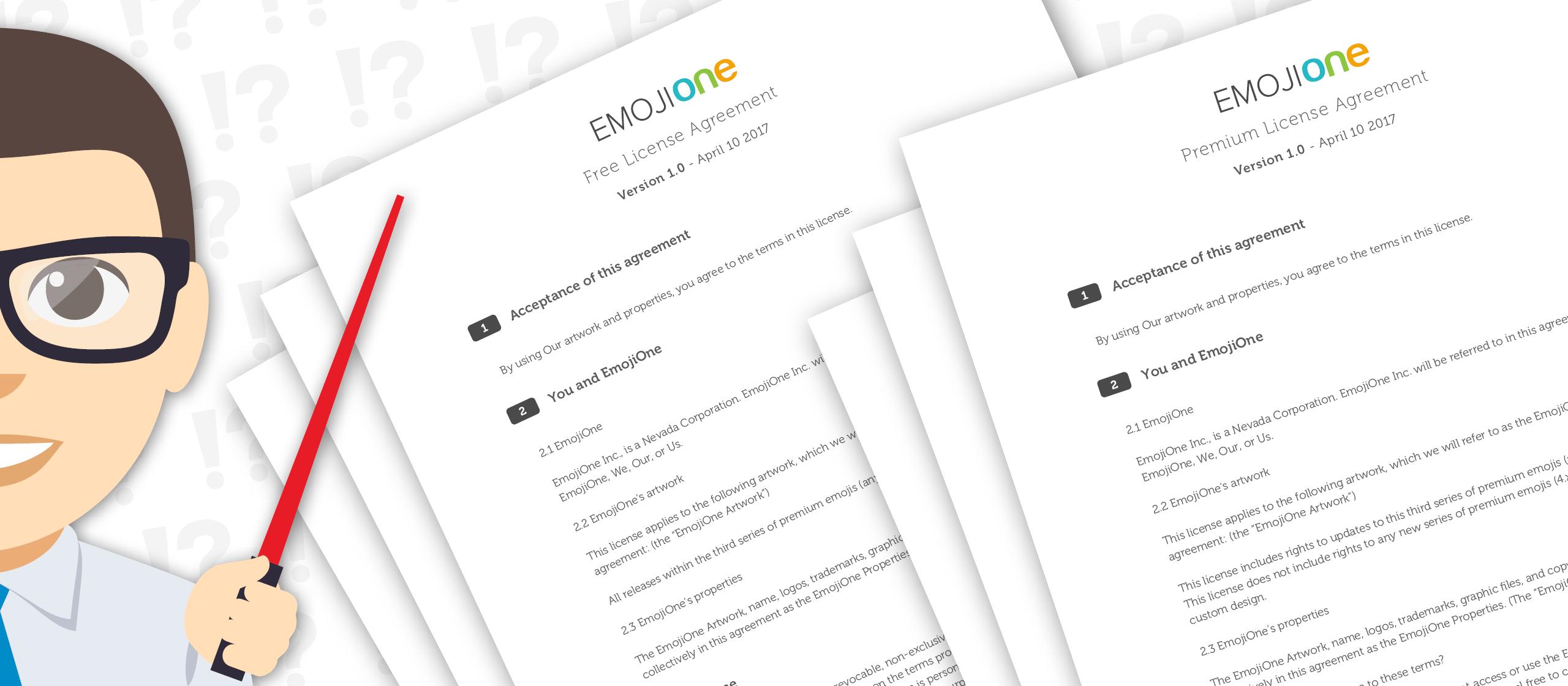 EmojiOne 3.0 New Licensing Explained   EmojiOne Blog