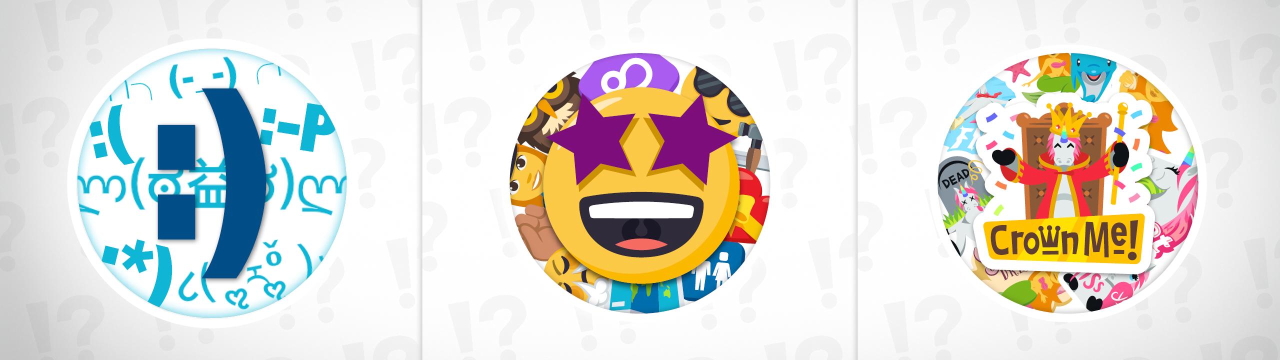 emoticons, emojis and stickersoh, my!   emojione blog