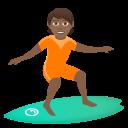 Download Person Surfing Light Skin Tone Emoji By Joypixels