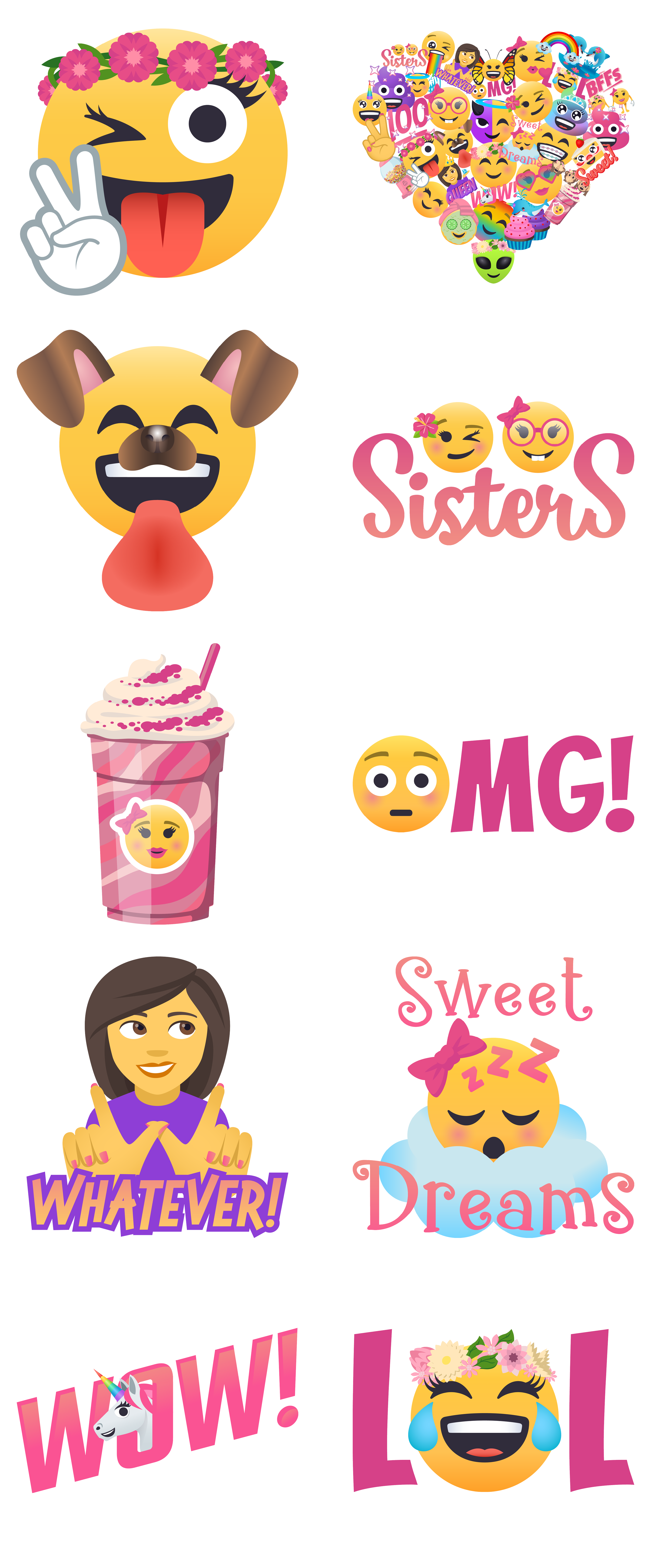 Presenting the Sweet n Sassy Sticker Pack