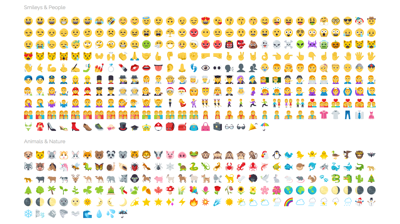 emojicopy s emoji keyboard upgrades to version 3 icons emojione blog