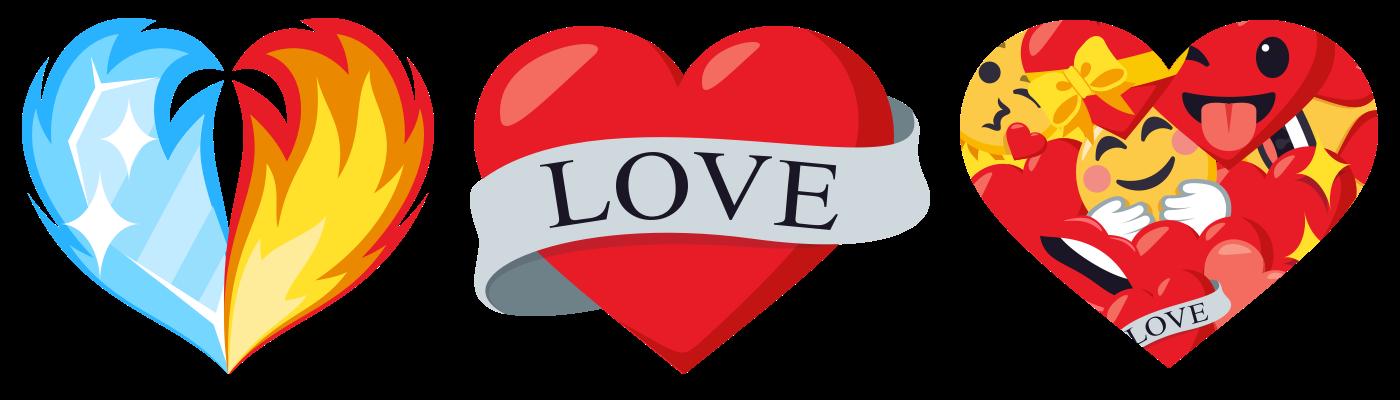Presenting Heart Emoji Theme Pack Joypixels Blog